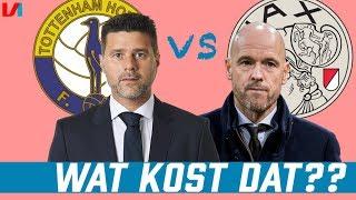 TRANSFERSOMMEN: Tottenham Hotspur (€145 Miljoen) VS Ajax (€55 Miljoen)