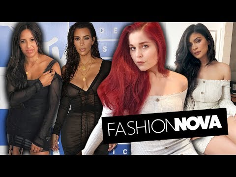Trying On Kardashian Outfits From Fashion Nova