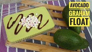 Avocado Graham Float (Icebox Cake)