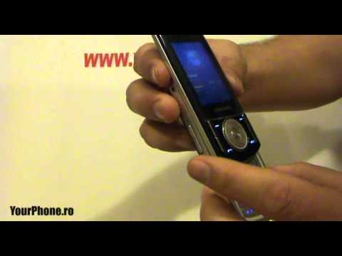Samsung F400 Review in Romana