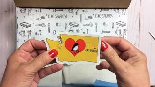 BIG Chic Sparrow Order   Unboxing