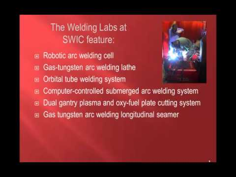 Professional Welding Training available through Selsius at Southwestern Illinois College