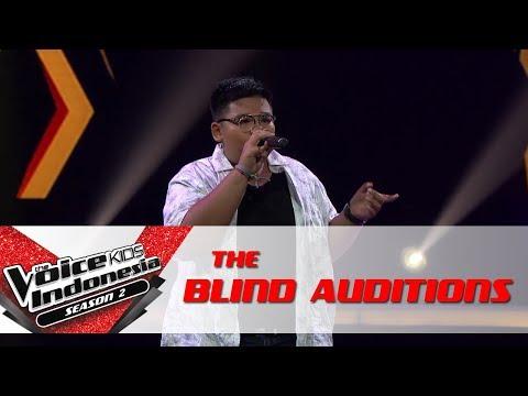 "Maikhael ""Lean On"" | The Blind Auditions | The Voice Kids Indonesia Season 2 GTV 2017"