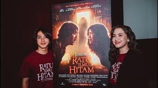 Pengakuan Zara Jkt48 Ari Irham cerita horror saat shooting Film Ratu Ilmu Hitam