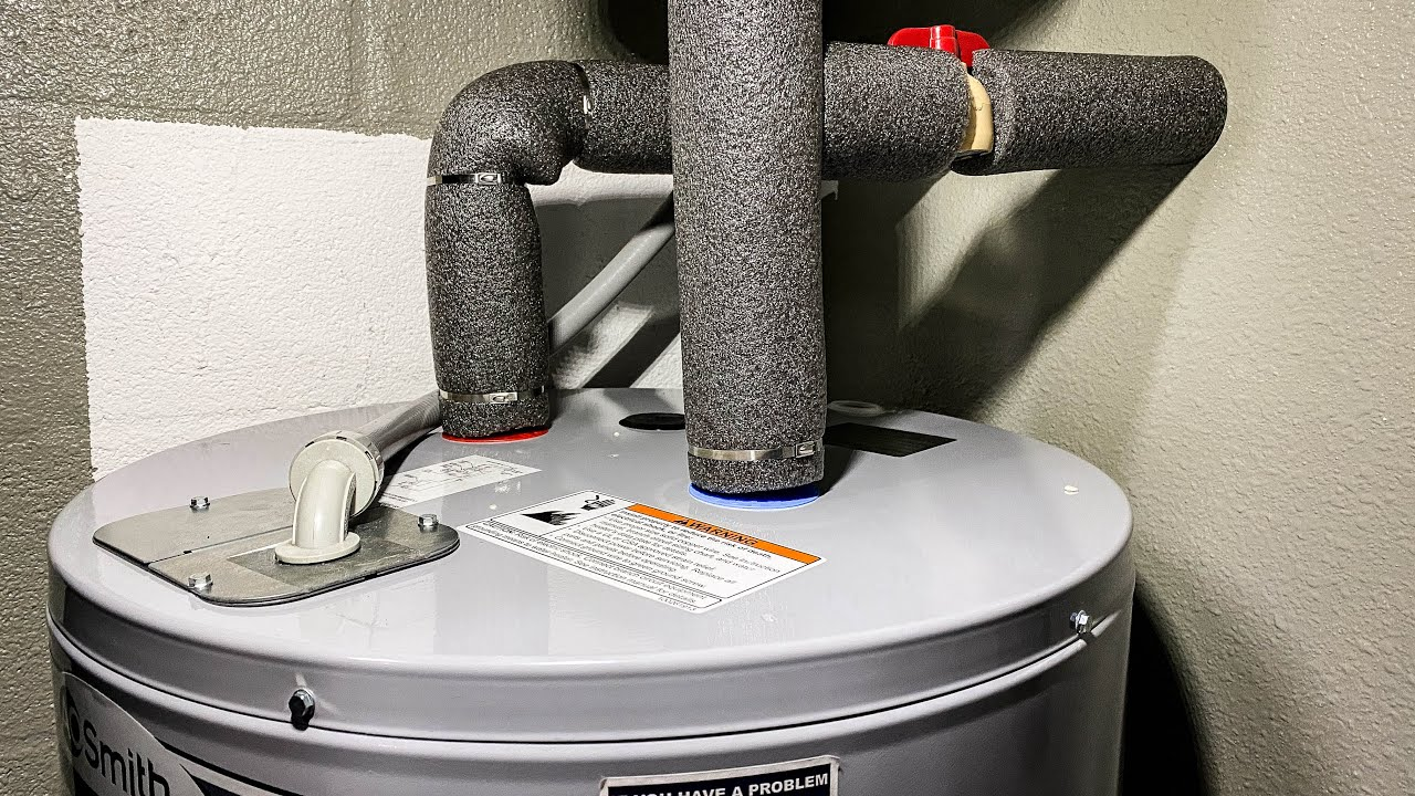 How To Replace Your Electric Hot Water Heater | Full ...