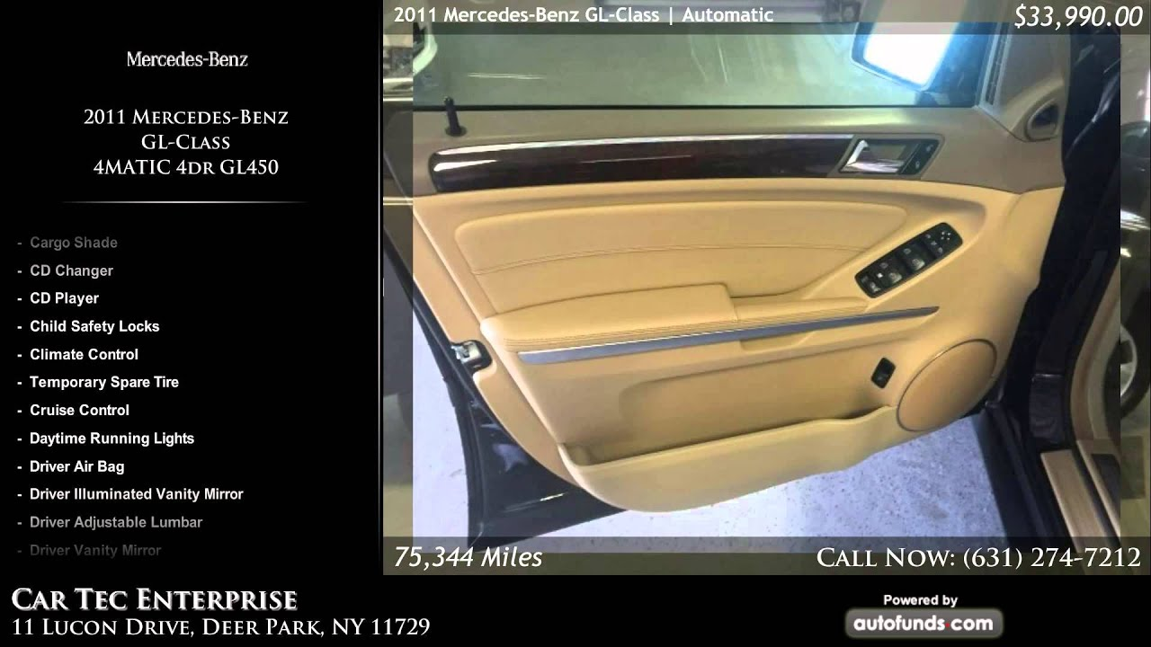 Used 2011 mercedes benz gl class car tec enterprise for Enterprise mercedes benz