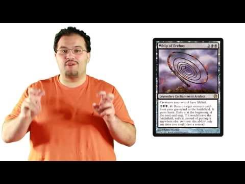 MTG Theros Spoilers: Whip of Erebos, Swan Song, Dissolve, Tormented Hero, and more!