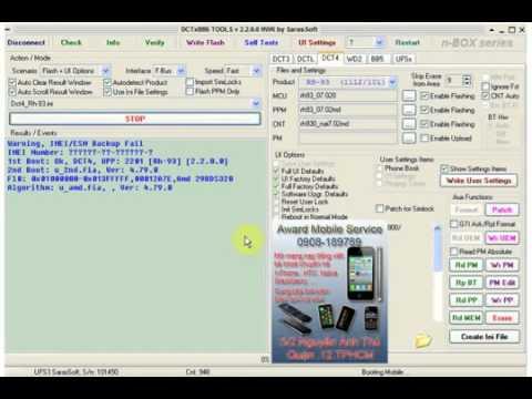 Hướng dẫn Rebuild imei Nokia DCT4 sử dụng HWK