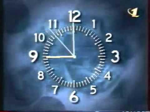 Смотреть Заставка ОРТ Программы Время 1997 2000 онлайн