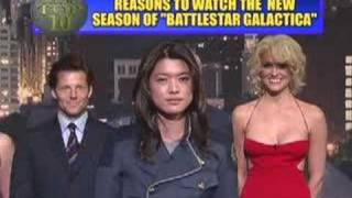 David Letterman Battlestar Galactica Top 10 list