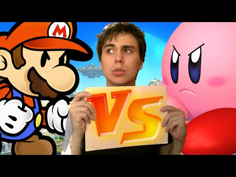 MARIO VS KIRBY !! - Kill The Plumber (Jeu Flash)
