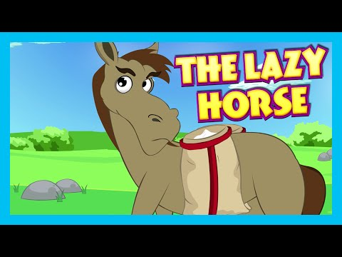 THE LAZY HORSE - Moral Story For Children | T Series Kids Hut - Full Story
