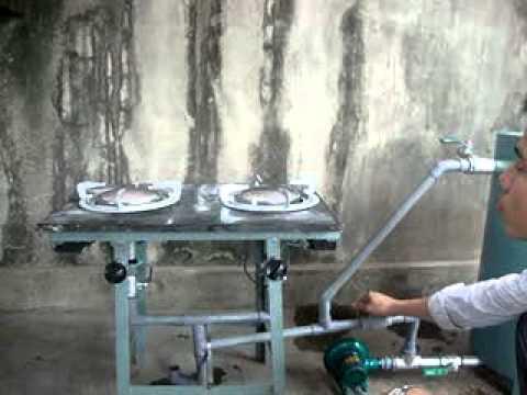 Bếp gas hóa khí - tại Hải Phòng P12( tạo hồng ngoại) .flv