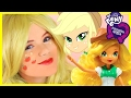 My Little Pony Applejack Makeup Tutorial!  Equestria Girl Doll Cosplay | Kittiesmama video