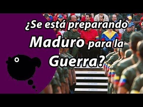 S.O.S Is MADURO preparing for a CIVIL WAR?