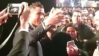 Cristiano Ronaldo FAILS Trying to Break The Rock's Selfie World Record