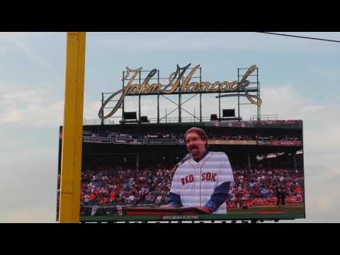 Wade Boggs number retired at Fenway Park Boston MA May 26th 2016
