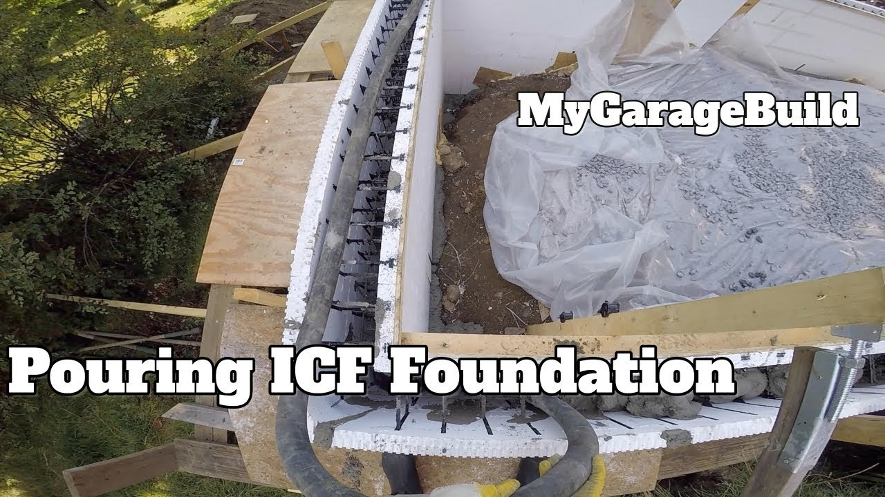 Pouring our icf concrete foundation diy house addition build youtube pouring our icf concrete foundation diy house addition build solutioingenieria Gallery