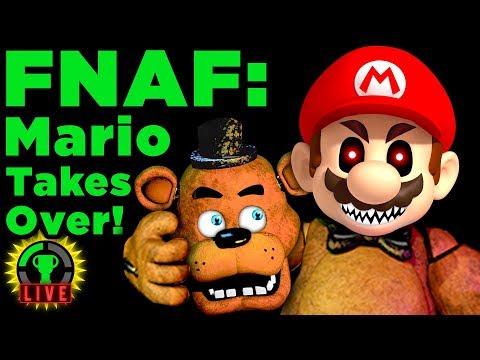 Mario in FNAF?! | Ultimate Nintendo Night (Ultimate Custom Night Fan Game)