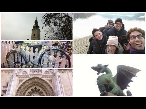 Vlogmas: vi porto a Liubljana e Zagabria 🍃⛄️