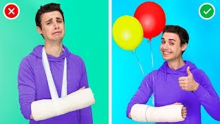 12 Life Hacks for Dealing with a Cast / How to Survive a Cast