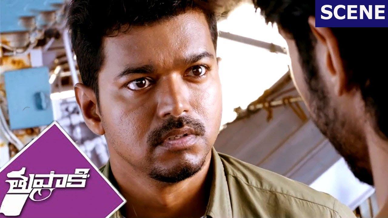 Vijay and Vidyut Jamwal Climax Scene - Thuppakki Movie Scenes