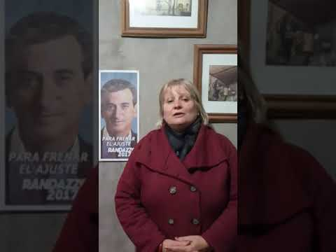 Diana Barcia, candidata de Frente Justicialista Cumplir - YouTube