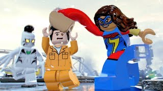 LEGO Marvel Super Heroes 2 Spiderman Ms Marvel & White Tiger Stops Prison Break