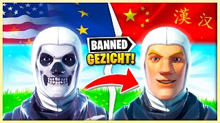 DIT Is ⛔️VERBANNEN⛔️ In Fortnite CHINA!!