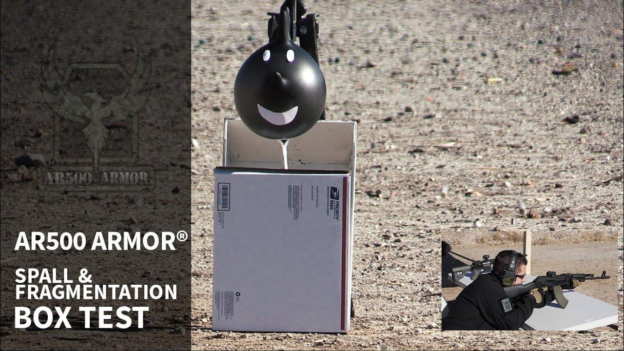 AR500 Armor® Body Armor Spall & Fragmentation