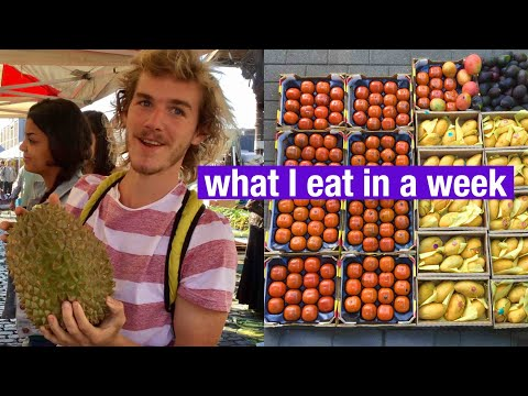FRUITARIAN DIET : WHAT I EAT IN A WEEK