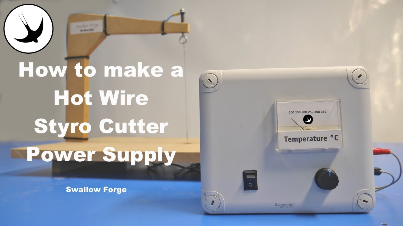 How to Make a Hot Wire Styro Cutter Power Supply