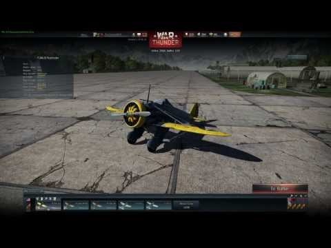 War thunder plane review P-26 Peashooter