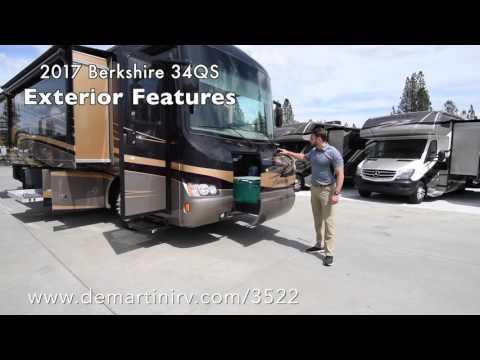 2017 Forest River Berkshire 34QS Class A Diesel Motorhome Full Walk Through Review