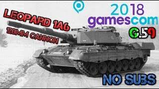 Gamescom leak, Leopard 1A6 and No Submarines - War Thunder Weekly News