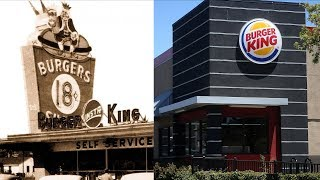 Here's what some of the biggest fast food restaurants used to look like