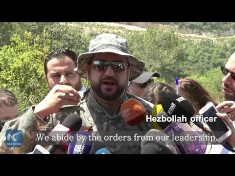 """Media tour of border: Hezbollah accuses Israel of """"preparing for war"""""""