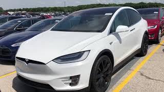 Обзор Tesla Model X | Дальнобой в США