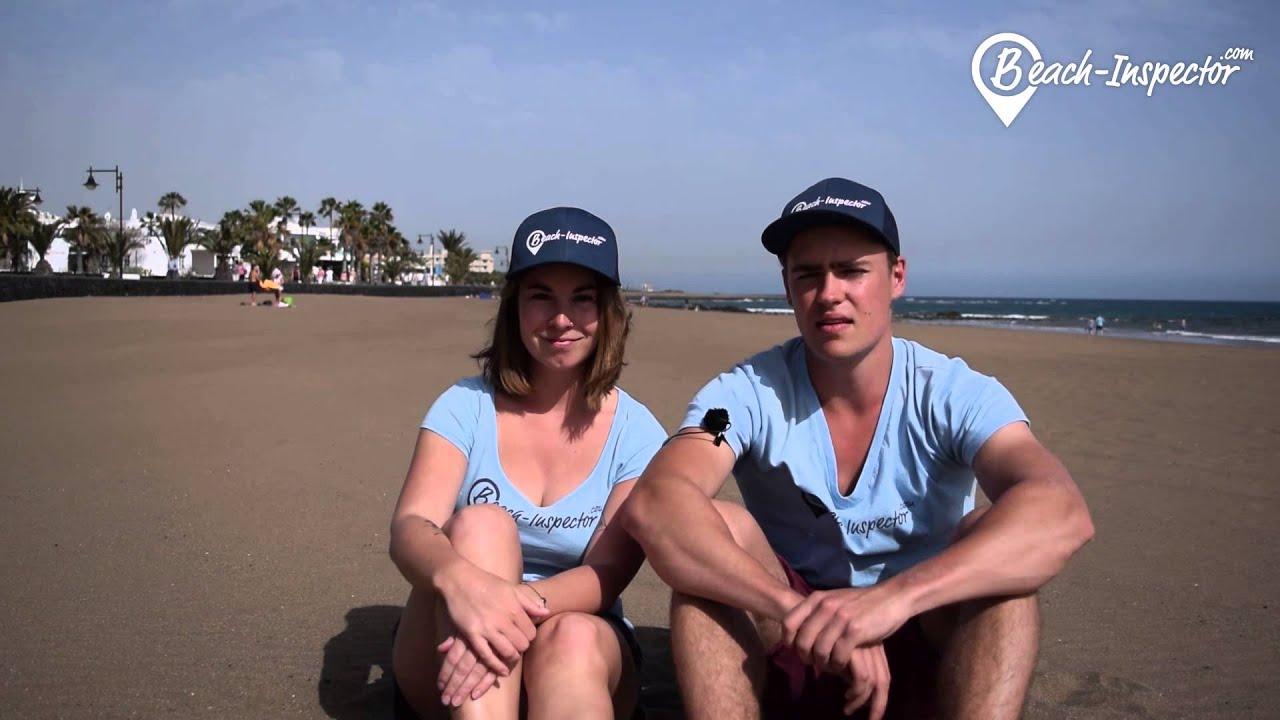urlaub am strand playa de matagorda auf lanzarote  youtube