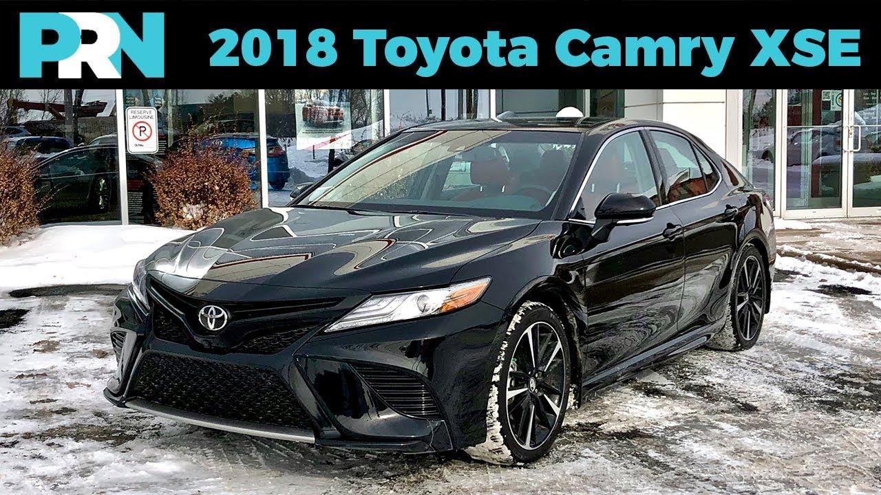 Goodbye Beige Hello Speed 2018 Toyota Camry Xse V6 Testdrive Spotlight