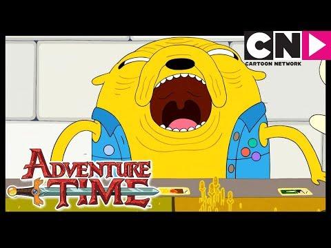 Время приключений | Дочки-отцы и карточные войны | Cartoon Network