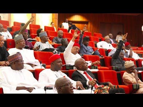 Nigerian Senators 'Fight' Over Seating Arrangement | Bounce Daily Round