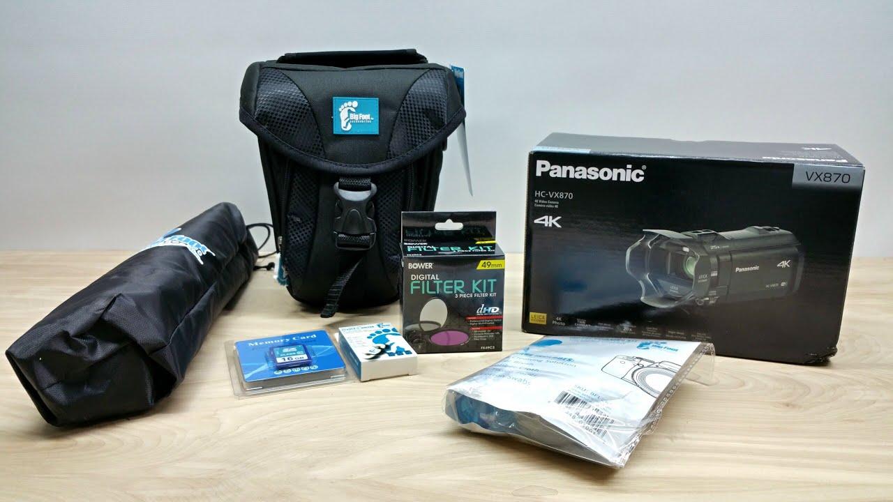 Panasonic Hc Vx870 Camcorder Review Wxf995 4k Ultra Hd