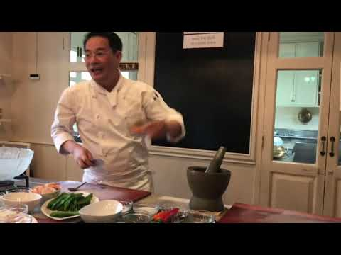 Wing Bean Salad Recipe at Mandarin Oriental Thai Cooking School Bangkok