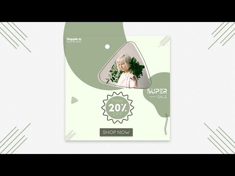 Promotion Fashion Banner Design in Photoshop CC or CS6 | Designhob