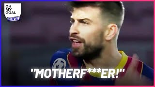 The reason why Piqué and Griezmann insulted each other during Barcelona-PSG | Oh My Goal
