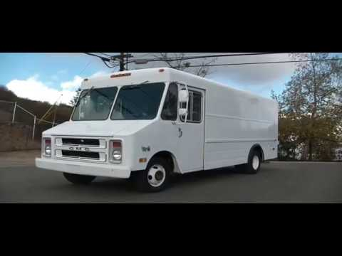 84 GMC Work Van Step Van 14,000 orig miles, 1 Owner, Like New, Ex  Government Vehicle Truck
