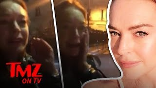 Lindsay Lohan PUNCHED in the Face During Insane Altercation | TMZ TV