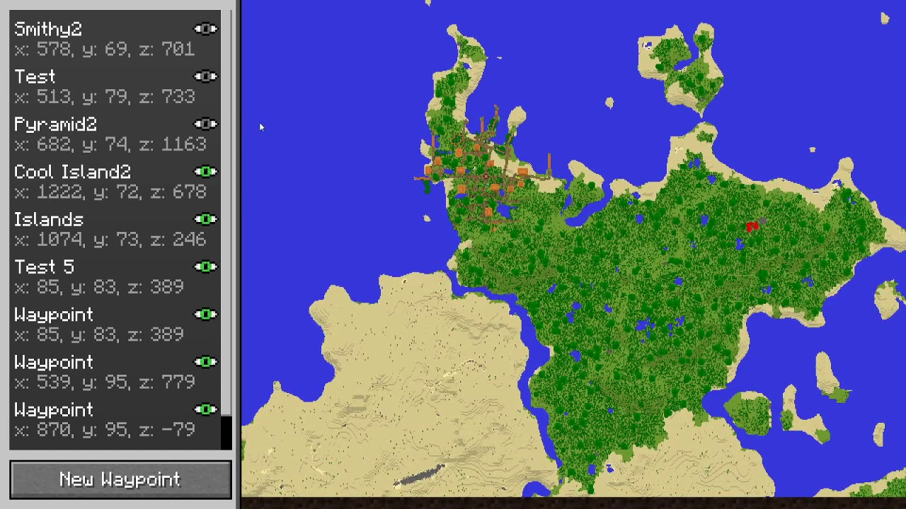 Travellers Map Mods Minecraft Curseforge