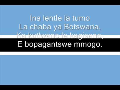 Hymne national du Botswana